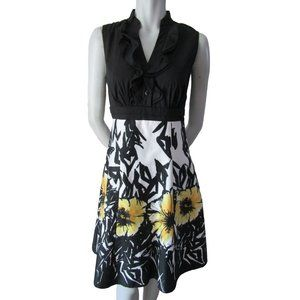 Laura Sleeveless Floral Dress 6 (fits 8)